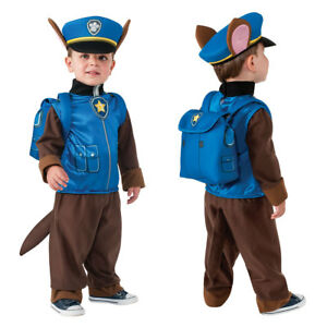 Image is loading Toddler-Paw-Patrol-Chase-Halloween-Costume