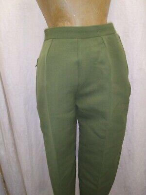 1960s Annie Slacks \u2022 Mid Century wool trousers