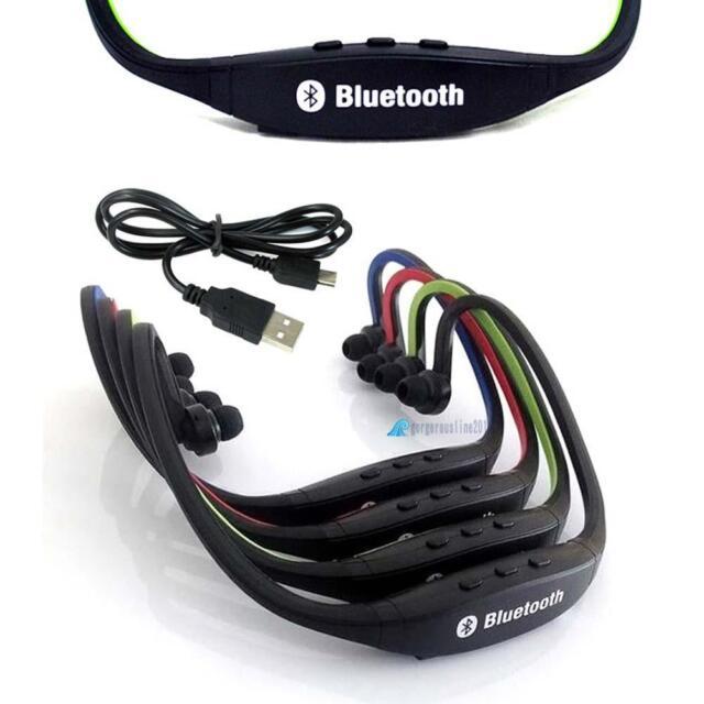 New Universal Neckband Sports Stereo Calls Music Wireless Bluetooth Headset GL