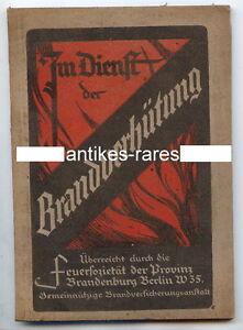 Antiquitäten & Kunst Angemessen Im Dienst Der Brandverhütung Feuersozität Brandenb./ber Feuerwehrmann