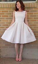 Carolina Herrera~Spring 2012 Blush Wedding / Cocktail Gown~2~$3650 *MAGNIFICENT!