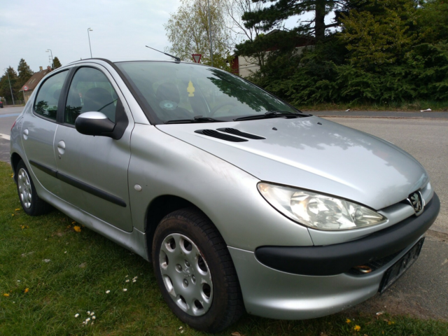 Peugeot 206, 1,4 HDi Edition, Diesel, 2004, km 334000,…
