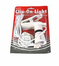 NEW CLIP ON SPOTLIGHT LIGHT HOLDER TEMPORARY OFFICE STUDIO LOFT BASEMENT LIGHT