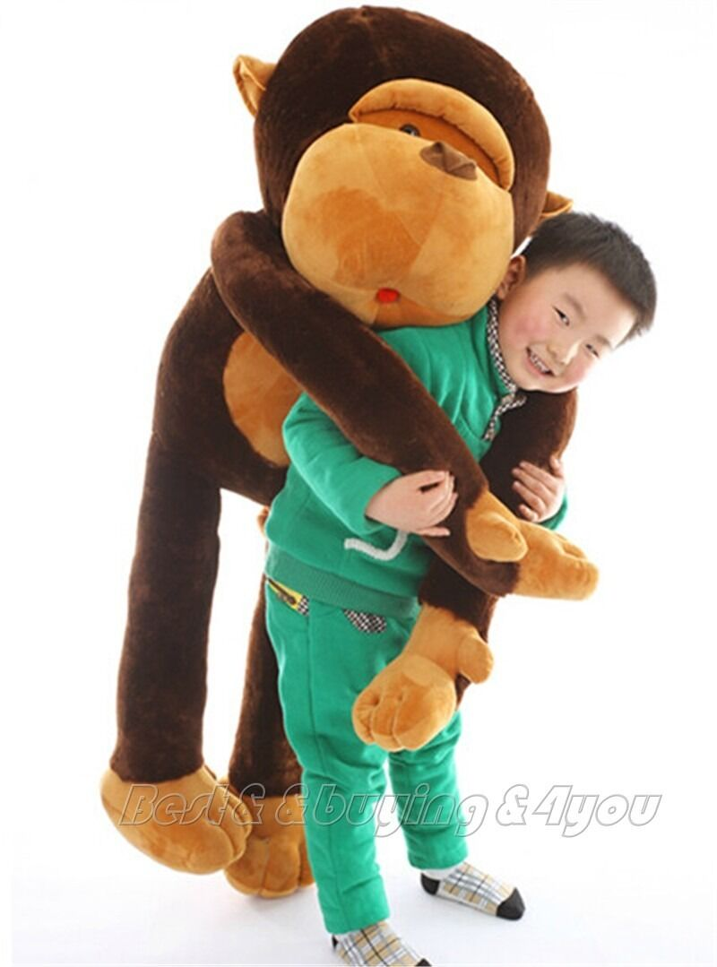 Nuovoest 55'' Giant Huge Monkey Soft Plush Doll Large Stuffed Animal Toy Kids Gift