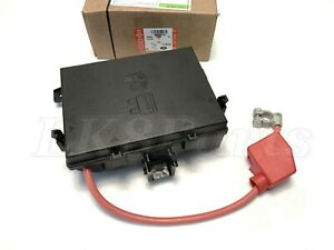 genuine land rover range rover p38 97-99 fuse box relay fusebox ... land rover fuse box connector part numbers  ebay