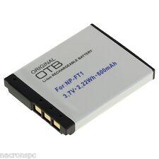 BATTERIE NP-FT1 Sony Cyber-shot DSC-L1 DSC-M1 DSC-T1 DSC-M2 DSC-T10 DSC-T33