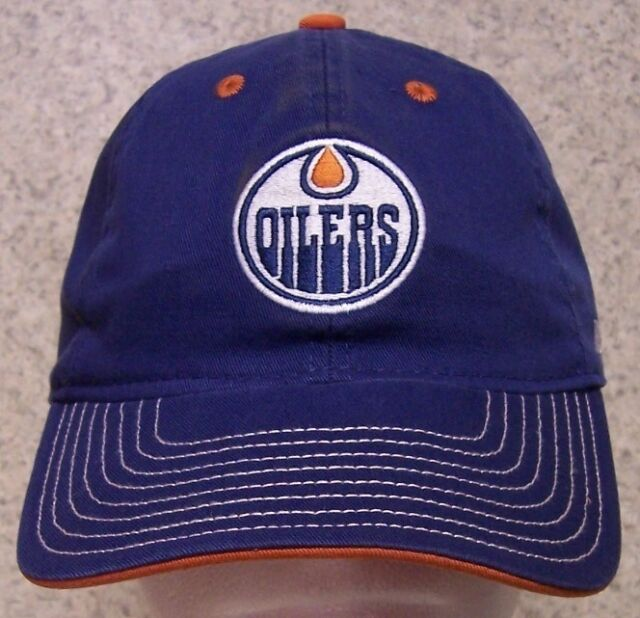 on sale 8d277 4a574 ... clearance embroidered baseball cap sports nhl edmonton oilers new 1 hat  size fit all 989d6 ca82d