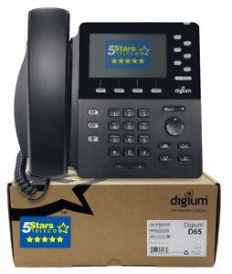 Digium D65 IP Phone (1TELD065LF) - Brand New, 1 Year Warranty