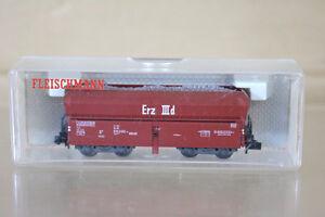 FLEISCHMANN-8520-DB-Erz-IIId-Selbstentladewagen-HOPPER-WAGON-amp-LOAD-532-4-ni