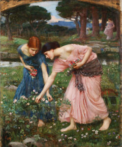 John-William-Waterhouse-Fine-Art-Giclee-Print-on-Canvas-Wall-Decor-Small-8x10