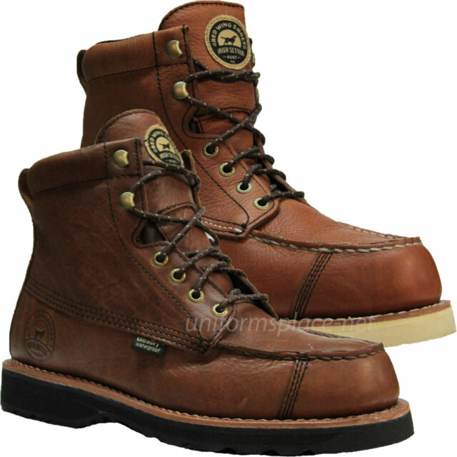 Mens Work Boots Red Wing Irish Setter Wingshooter 7
