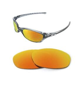 07629434ce2 NEW POLARIZED CUSTOM FIRE RED LENS FOR OAKLEY FIVES 2.0 SUNGLASSES ...