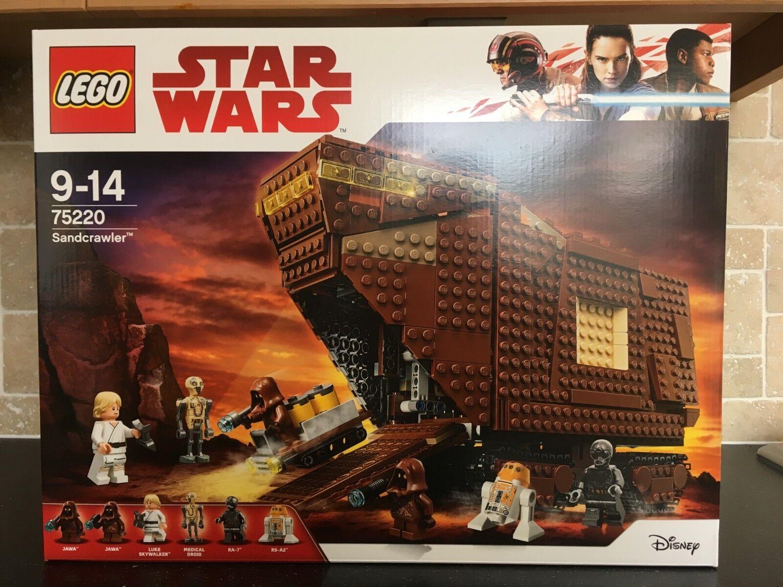 Lego STAR WARS - 75220 Sandcrawler Brand New & Sealed