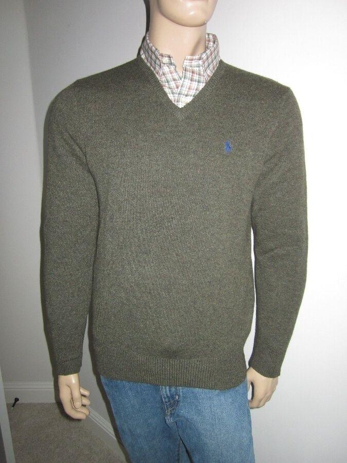 Polo Ralph Lauren Grün Wool Sweater NWT New S
