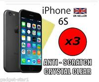 """3x HQ CLEAR SCREEN PROTECTOR COVER LCD GUARD FILM FOR APPLE IPHONE 6S 4.7"""" 2015"""