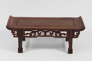28-cm-Blumen-Bonsai-Sockel-Untersetzer-Holz-China