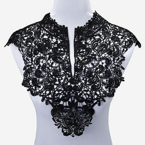 Lace Fabric Sewing Embellishments Trims DIY Neck Collar Crafts Decors Appliques