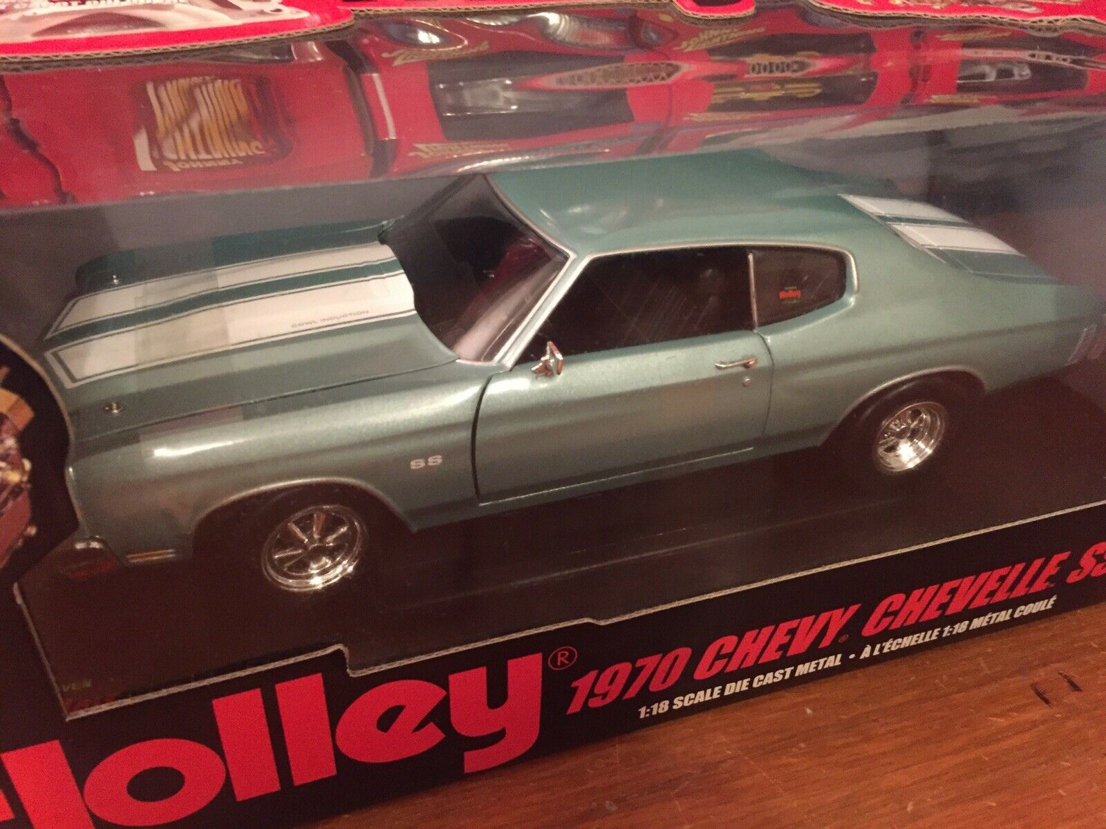 Ertl 1 18 1970 Chevy Chevelle SS454 1 Of 5000 Item 36983