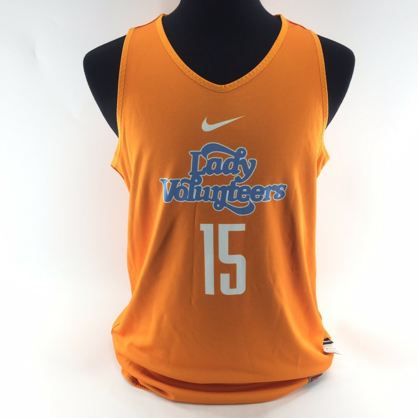 NIKE TEAM Tennessee Lady Volunteers Reversible BASKETBALL JERSEY Large NEW G6A
