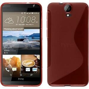 Silicone-Case-for-HTC-One-E9-S-Style-red-protective-foils