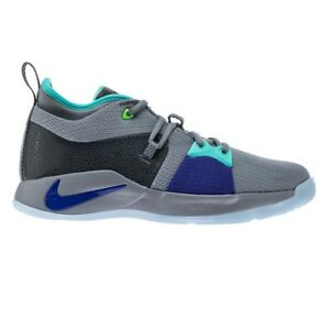 buy online bbf06 42c82 Details about Nike PG 2 GS Pure Platinum/Neo Turquoise Youth Basketball  Shoes 943820-002