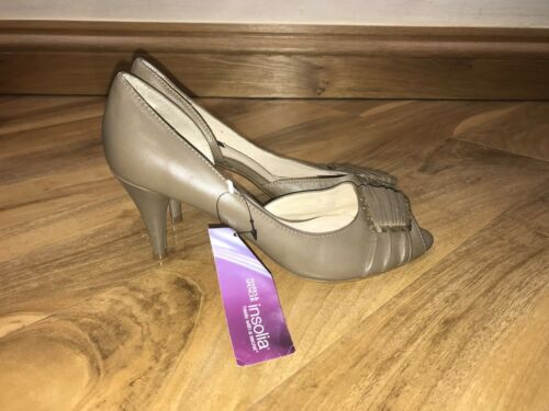 Chaussures en Marks Spencer marron à New cuir 6 Taille And talons Autograph BxraAB