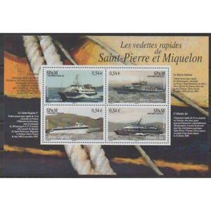 Saint-Pierre-et-Miquelon-Blocs-et-feuillets-2006-No-BF11-Navigation
