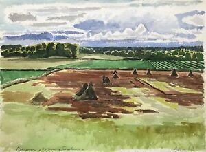 Karl-adser-1912-1995-fields-fagelmara-Landskrona-Sweden-Skane-Scandinavia
