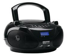 Tragbarer CD USB SD MP3 Player Bluetooth Ghettoblaster Radio Stereo Anlage