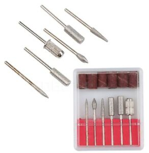 Punta-fresa-diamantate-Kit-in-box-6-punte-e-6-cilindri-abrasivi-Nail-art