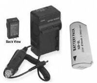 Battery +charger For Canon Nb-9l Nb9l Sd4500 Is Ixy 50s