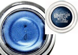 Maybelline-Color-Tattoo-24hr-Metal-Eyeshadow-75-Electric-Blue-NEW