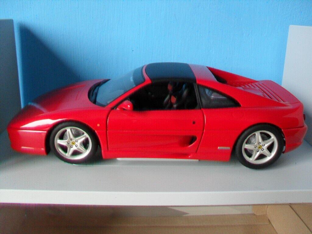 Ferrari F355 GTS rojo 1 18 UT Models    RARE