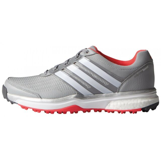 size 40 73840 eb377 NEW WOMEN S ADIDAS ADIPOWER SPORT BOOST 2 GOLF SHOES ONIX F33289 -PICK A  SIZE