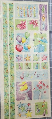 Creative Memories NEW Jumbo Great Lengths stickers Party Time birthday