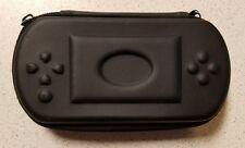 Generic Hard Shell Eva Protective Case UMD Black Game For PSP Very Good 5E