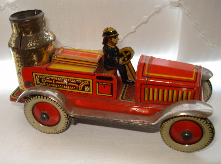 Arnold Fire Engine Penny Toy VGC