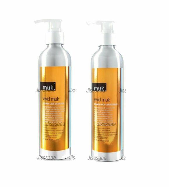 Muk Vivid Colour Lock  Shampoo and Conditioner  300ml Duo