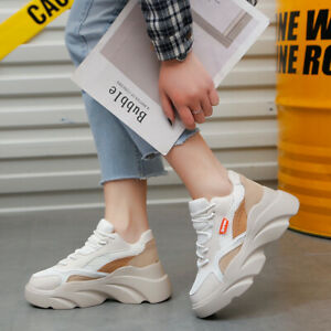 Women-039-s-Sports-Running-Sneakers-Walking-Athletic-Shoes-Fashion-Platform-Shoes