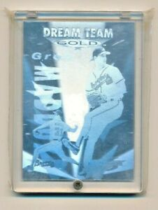 1995-Score-Dream-Team-Gold-Card-DG11-Greg-Maddux-Atlanta-Braves-HOF