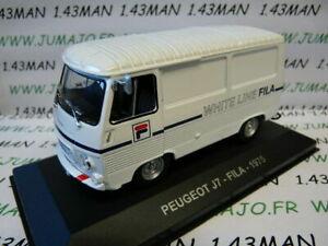 PIT29D-1-43-IXO-Altaya-Vehicules-d-039-epoque-ITALIE-PEUGEOT-J7-FILA-1975