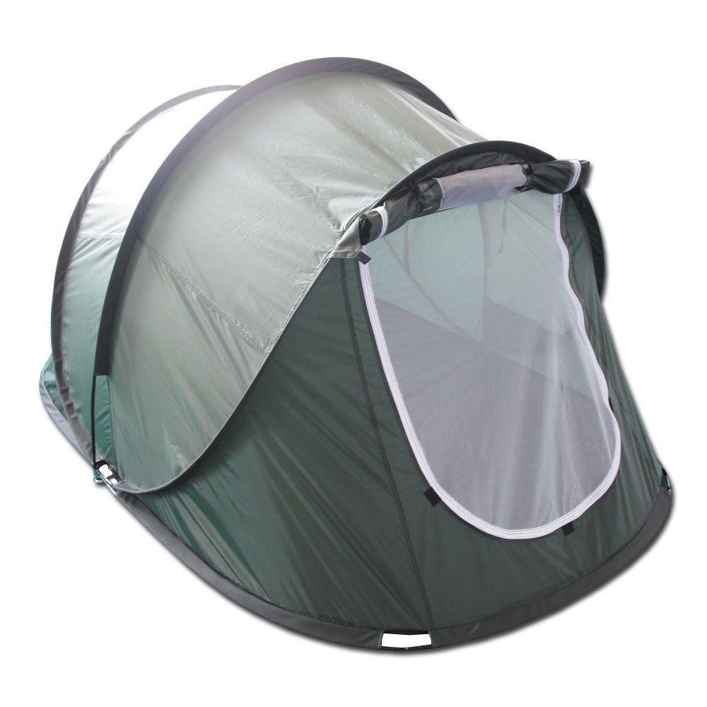 MFH tenda da lancio PopUp Tent Rachel Tenda da Campeggio all'aperto verde Oliva 220x145x110 cm