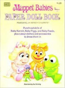 Sue Venning - MUPPET BABIES PAPER DOLL BOOK [Uncut]