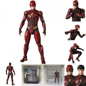 Mafex-058-DC-Comics-Justice-League-The-Flash-PVC-Action-Figure-Toy-Box-Packed