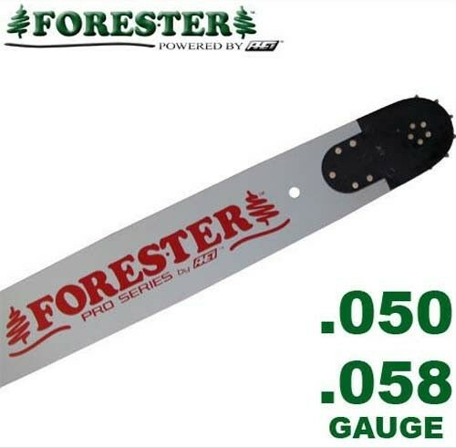 """Forester Professional Chainsaw Bar 24/"""" 5-Rivet for Husqvarna Fits Large Mount"""