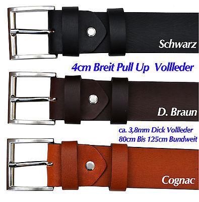 Spessore 4mm In Pelle Pieno Cintura Buckle, Colore E Lunghezza Selezionabile Ot40-mostra Il Titolo Originale I Colori Stanno Colpendo