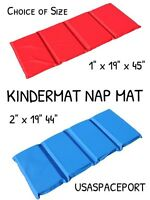 Kids Vinyl Kindermat Nap Mat Daycare Preschool Waterproof Mat 1 Or 2 Thick Pad
