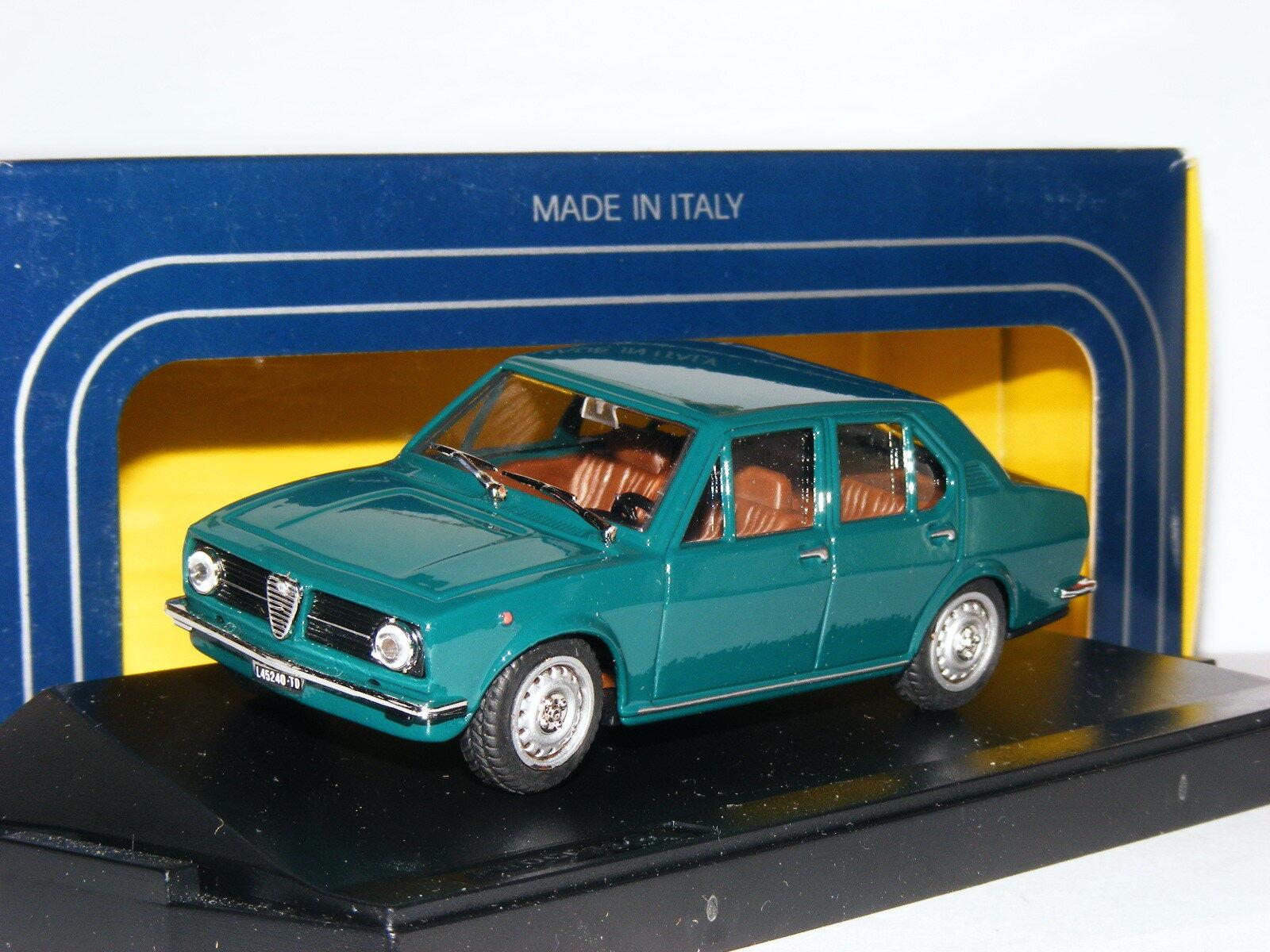 Progetto K PK220 1975 Alfa Romeo Alfetta 1600 Green 1 43
