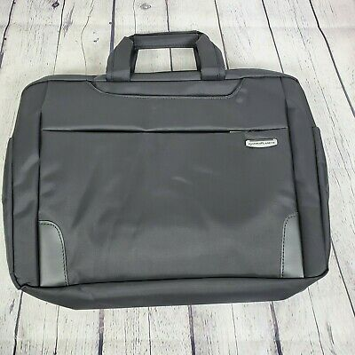 Black Studio Portfolio Laptop Briefcase Solo