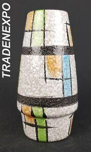 1950-039-s-Vintage-BAY-KERAMIK-Colorful-Vase-West-German-Pottery-Fat-Lava-Era-Retro